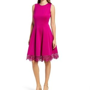 Donna Rico Sleeveless Fit & Flare A-Line Dress